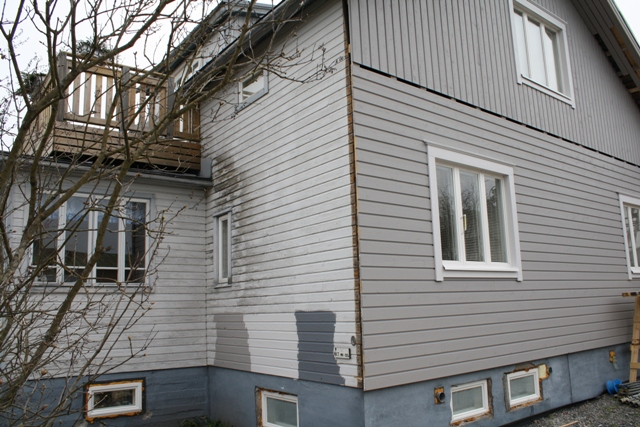 Julkisivu remontti Heinola 2010